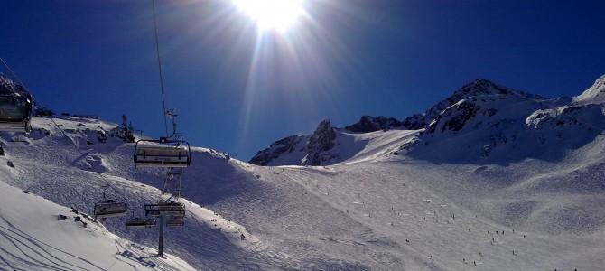 Gletsjer skien in Stubaital
